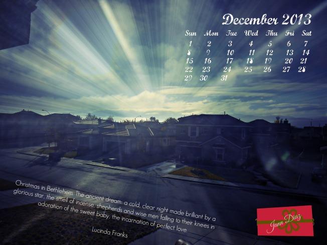 Calendar Dec 2013