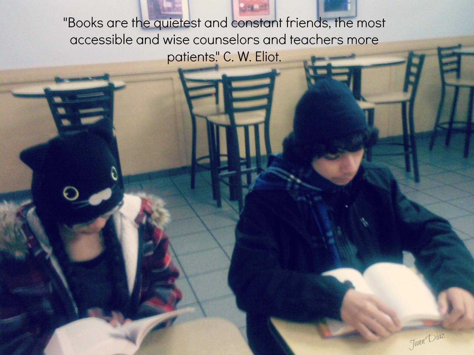Books are C. W. Eliot