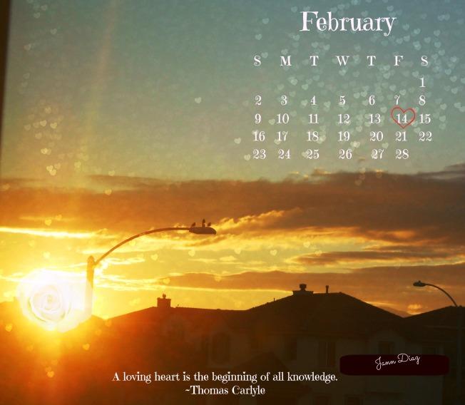 Feb1 2014 calendar