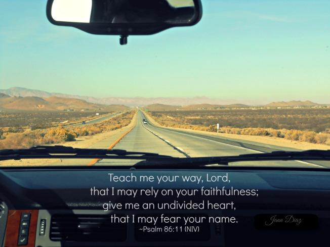 Psalm 86 11