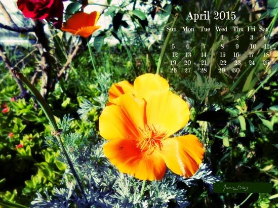 Abril 2015 Calendar