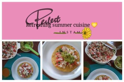 perfect summer cuisine..