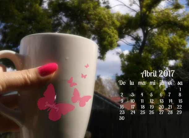 April 2017 calendario